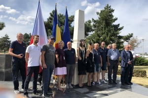 All participant of first stage of Memorial flight in Bucharest.